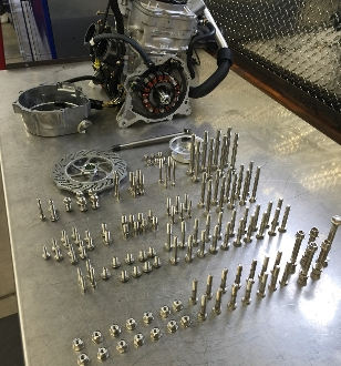 2011-2017 Polaris Pro and Axys 126 Piece Engine Bolt Kit
